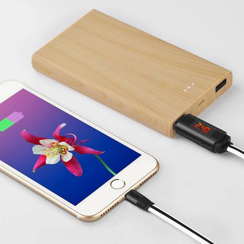 Original hoco. U29 charging lightning cable red, white