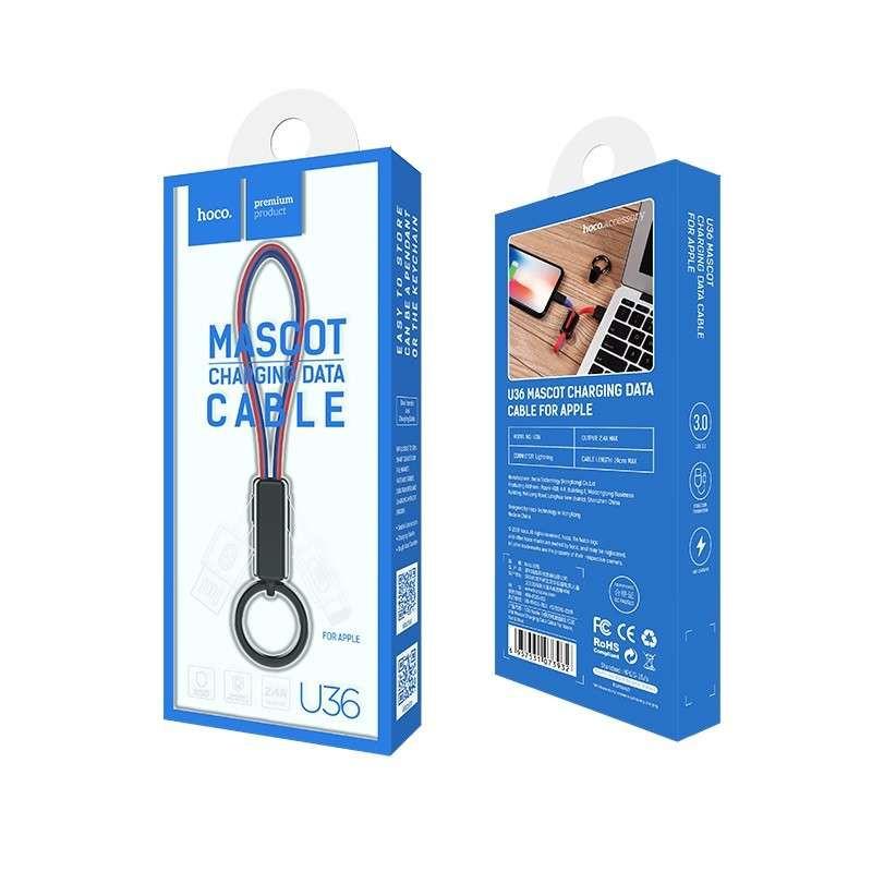 hoco. U36 lightning charging data cable