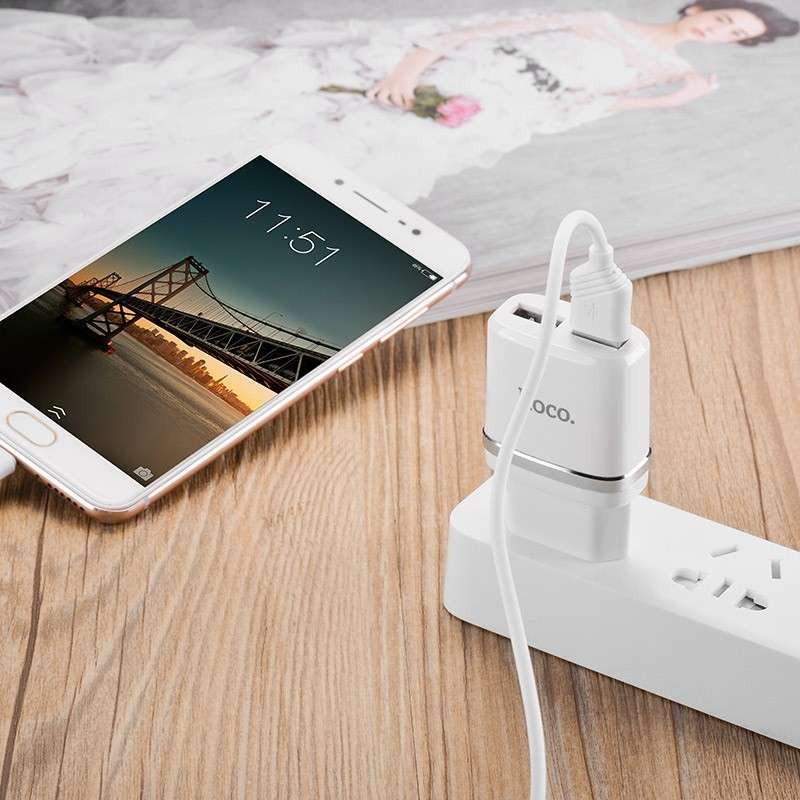 hoco. C12 dual USB charger
