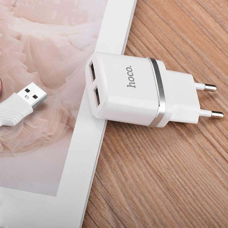 hoco. C12 dual USB nabíjačka