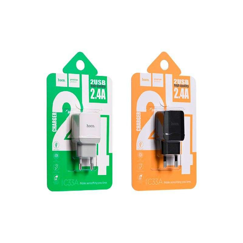 hoco. C33A dual USB nabíjačka