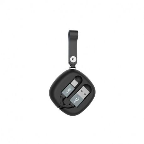 hoco. U33 charging cable type-c black