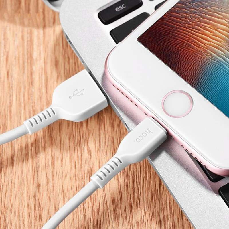 hoco. X20 charging lightning cable 2m