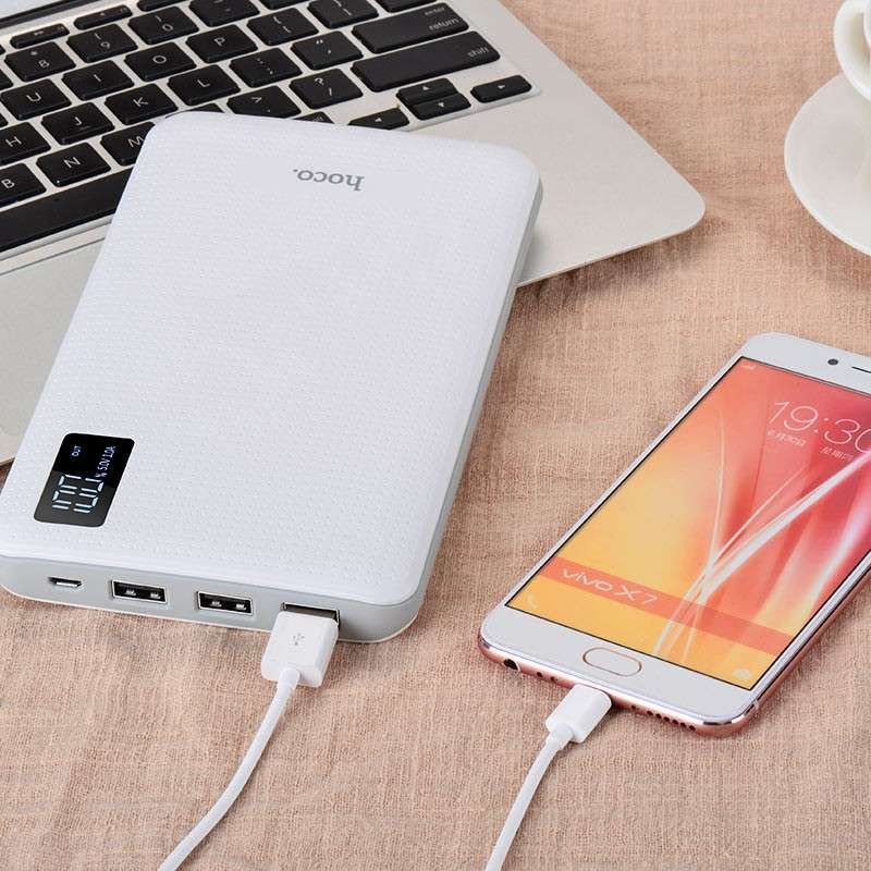 hoco. B24 triple USB powerbank