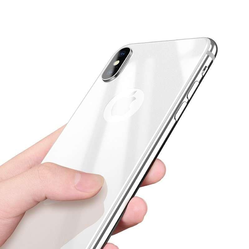 hoco. ochranné temperované sklo na zadný kryt pre iPhone X