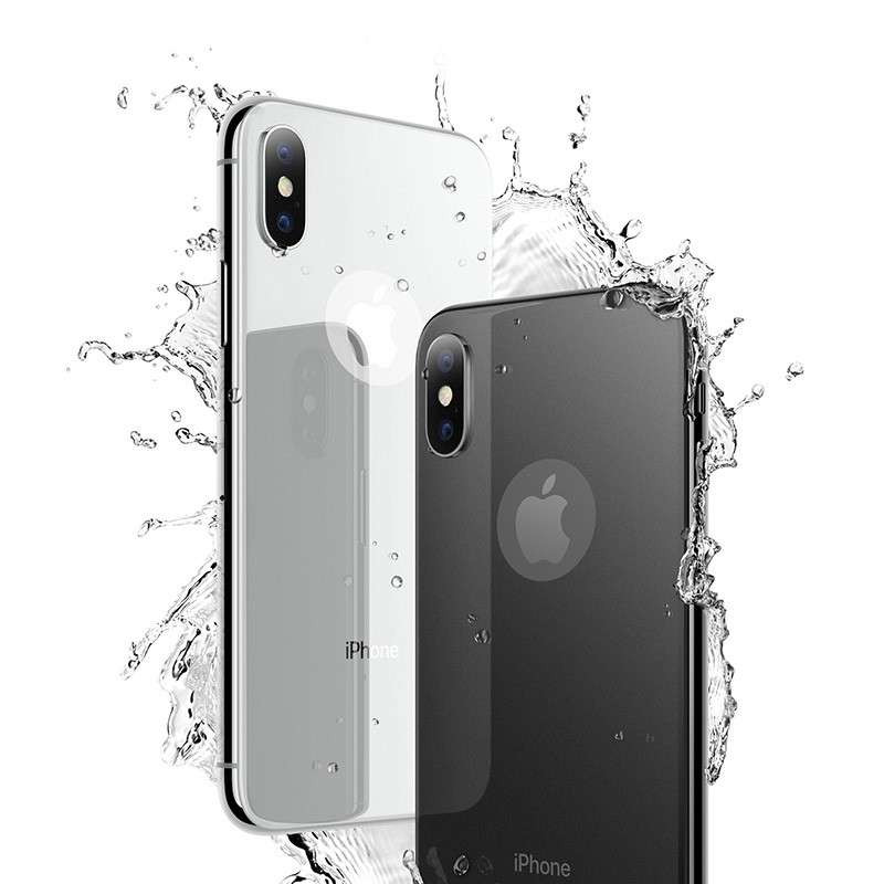 Original hoco. tempered glass for back side of iPhone X white