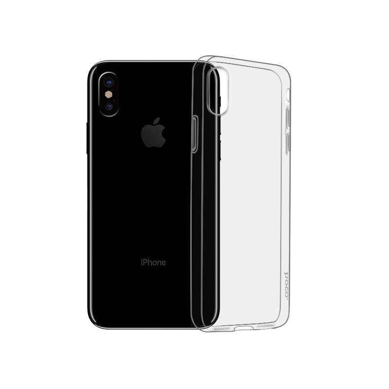 hoco. transparent smartphone cover light series for iPhone X