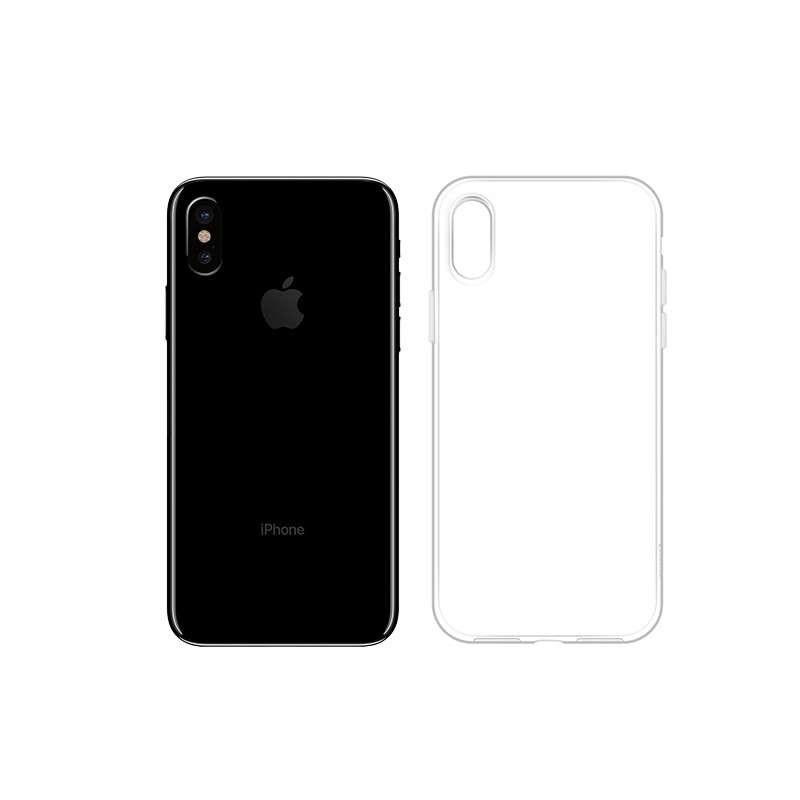 hoco. transparentný obal na telefón light series pre iPhone X