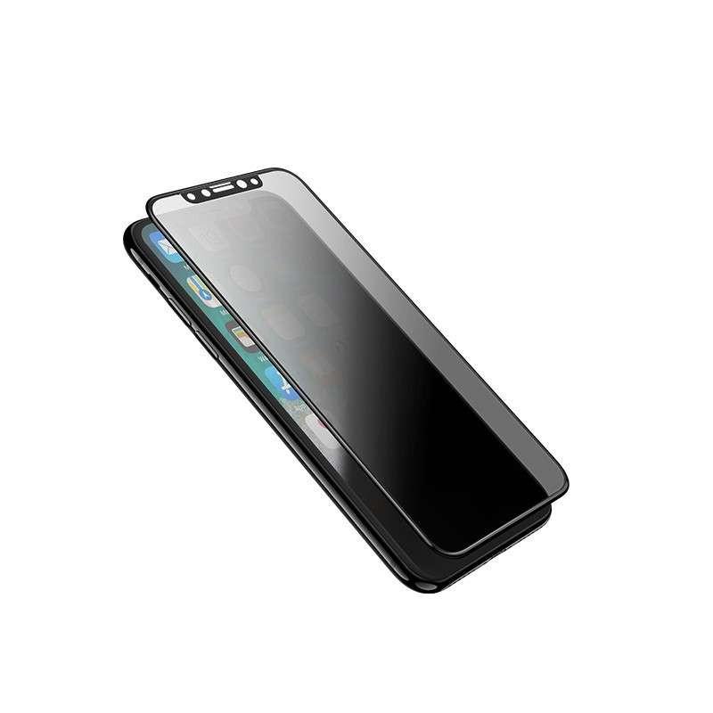 hoco. ochranné temperované sklo anti-spy pre iPhone X