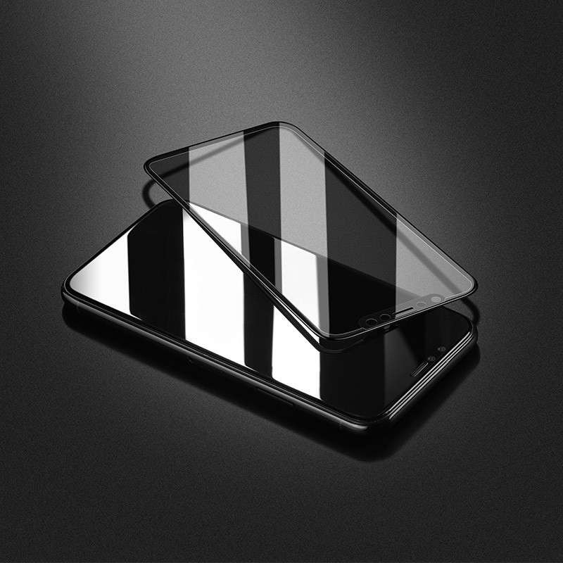 Original hoco. tempered glass anti-spy for iPhone X black