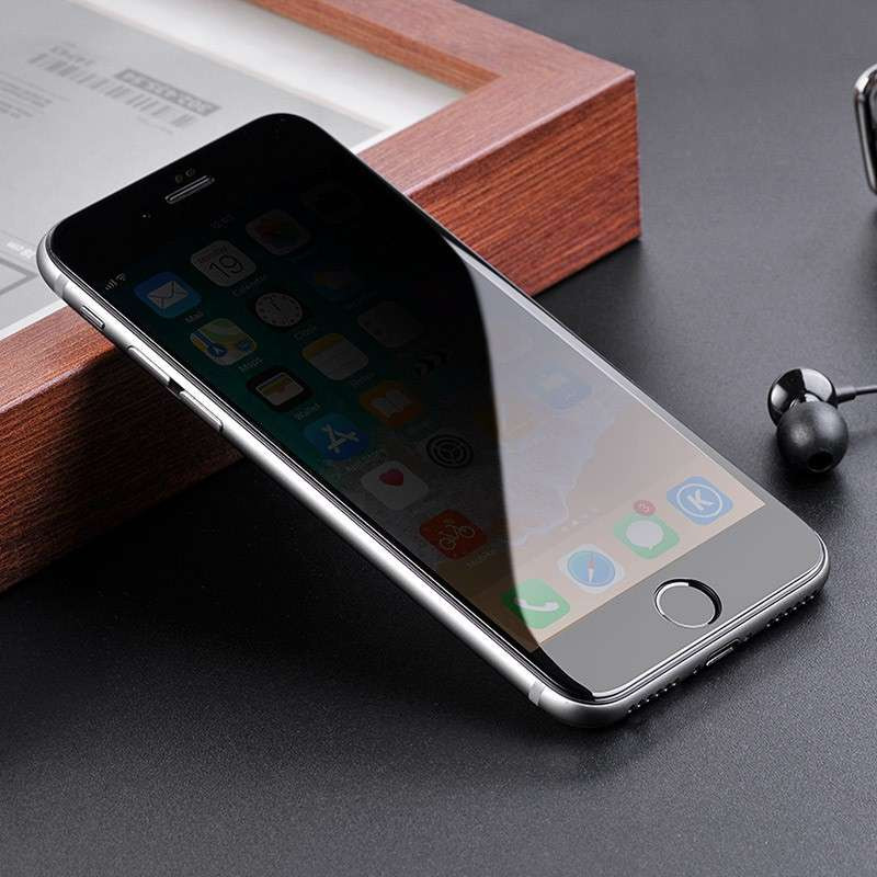 hoco. ochranné temperované sklo anti-spy pre iPhone 7/8