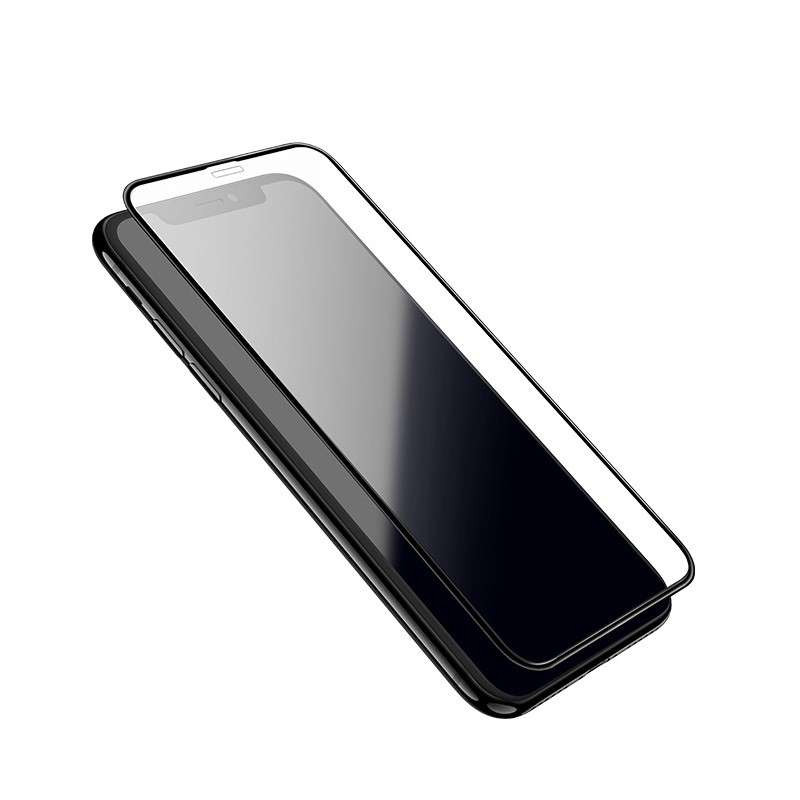 hoco. tempered glass 3D fast attach full screen HD for iPhone XR