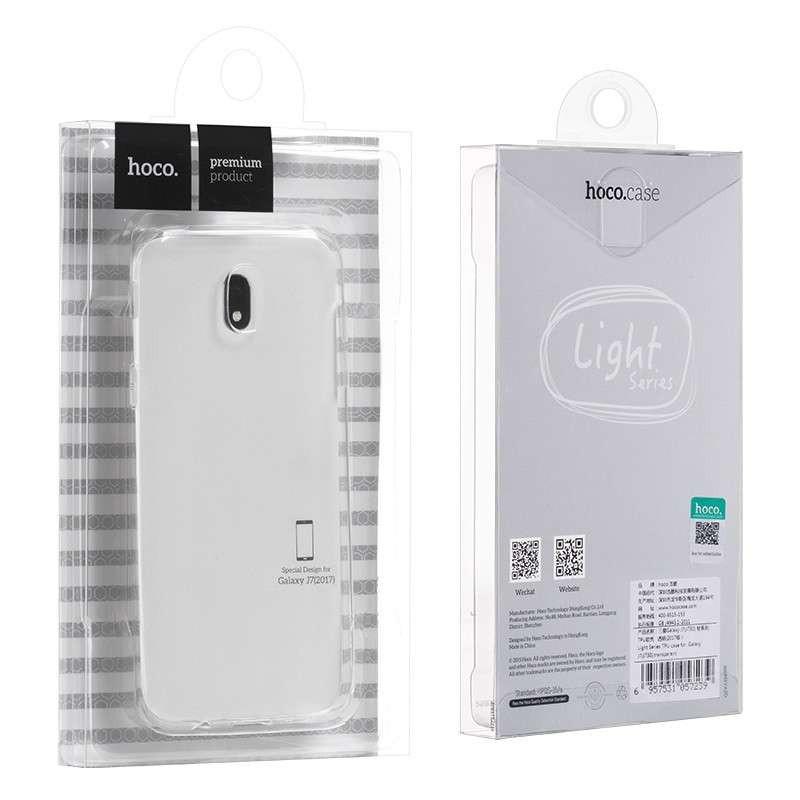 hoco. transparentný obal na telefón pre Samsung Galaxy J7/J730