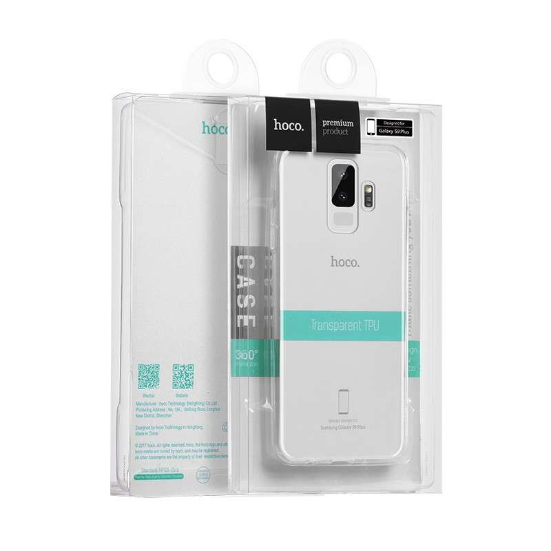 hoco. transparent smartphone cover for Samsung Galaxy S9 G960F