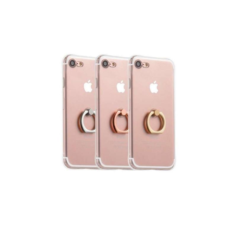 hoco. transparentný obal na telefón s držiakom pre iPhone 7