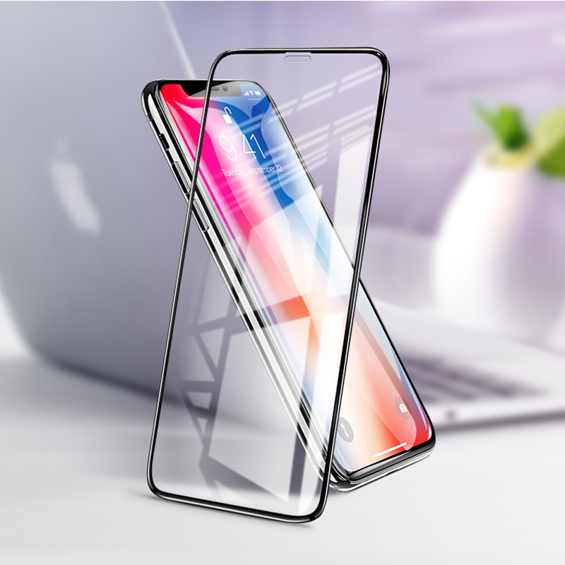 hoco. tempered glass A12 nano 3D full screen for iPhone XR
