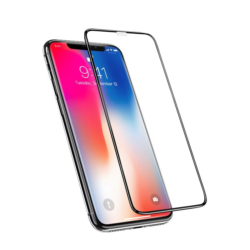 hoco. tempered glass A12 nano 3D full screen for iPhone XS Max