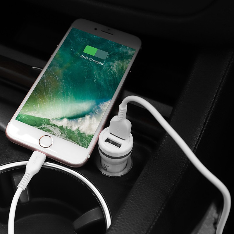 hoco. Z27 dual USB car charger