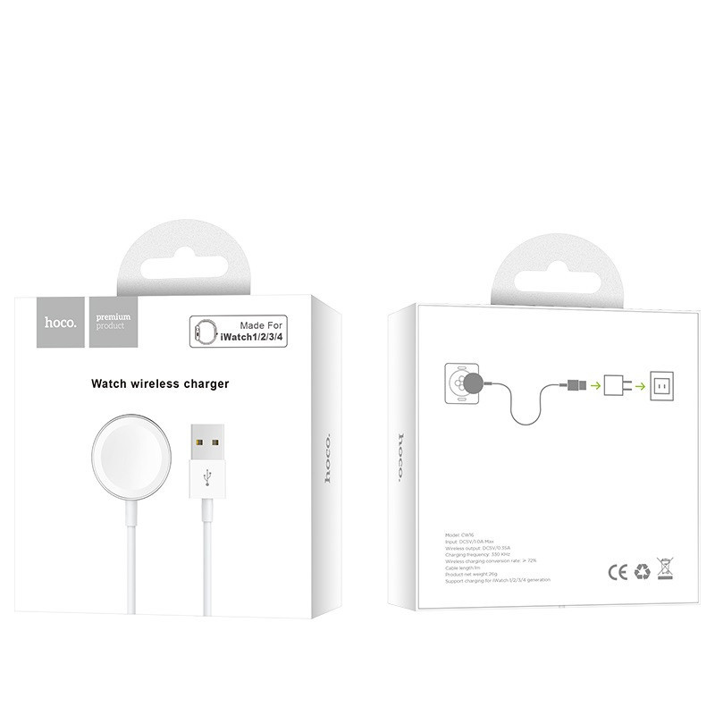 hoco. CW16 magnetický nabíjací kábel pre Apple Watch