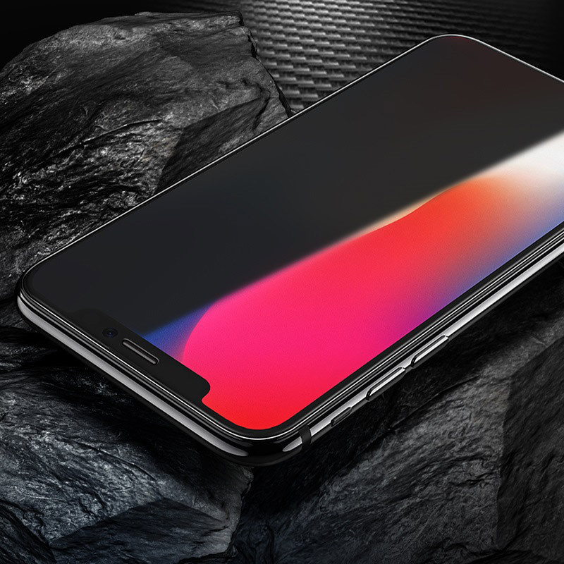 hoco. tempered glass anti-spy for iPhone Xr