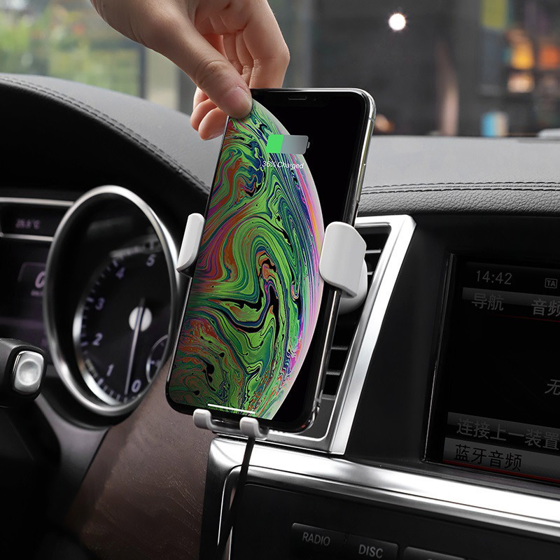 hoco. CW17 wireless car charger and smartphone holder