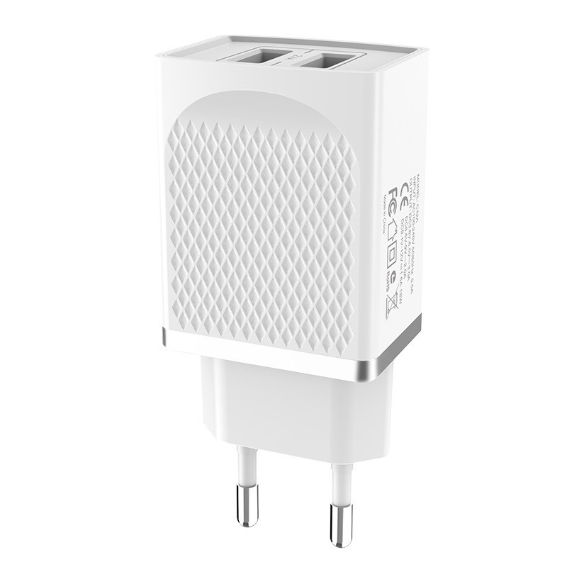 hoco. C43A 12W dual USB fast charger