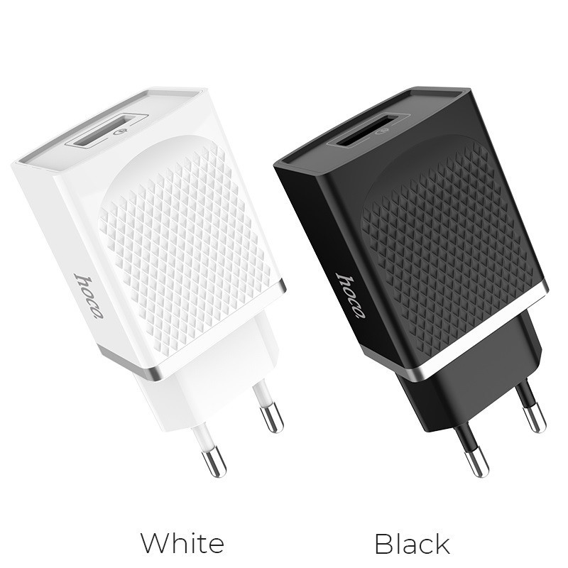 Original hoco. C42A 18W rapid charger white, black