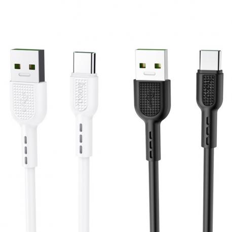 Original hoco. X33 type-c fast charging cable black, white