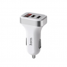 hoco. Z3 dual USB car charger with display