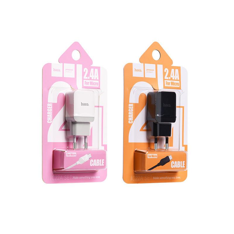 hoco. C22A nabíjací set s micro USB káblom