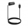 hoco. Z17 microUSB car charger with USB port