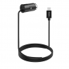 hoco. Z17 type-c car charger with USB port