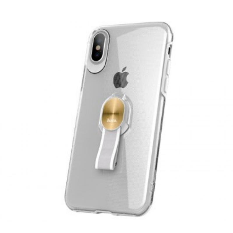 hoco. transparentný obal na telefón s magnetickým držiakom pre