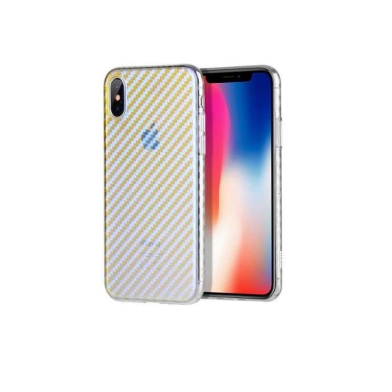 hoco. transparentný obal na telefón lattice pre iPhone 7/8