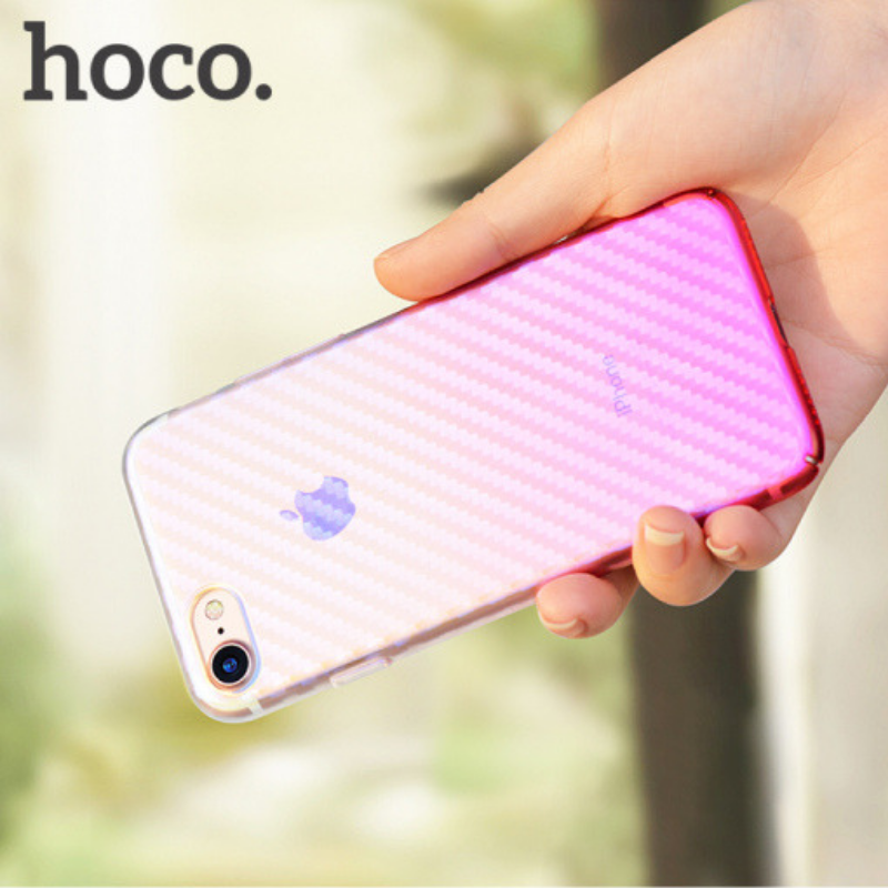 hoco. transparent smartphone cover lattice for iPhone 7 Plus/8