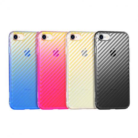 hoco. transparentný obal na telefón lattice pre iPhone 7 Plus/8