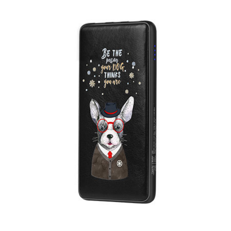 Originál 10 000 mAh powerbank Be the person your dog thinks you