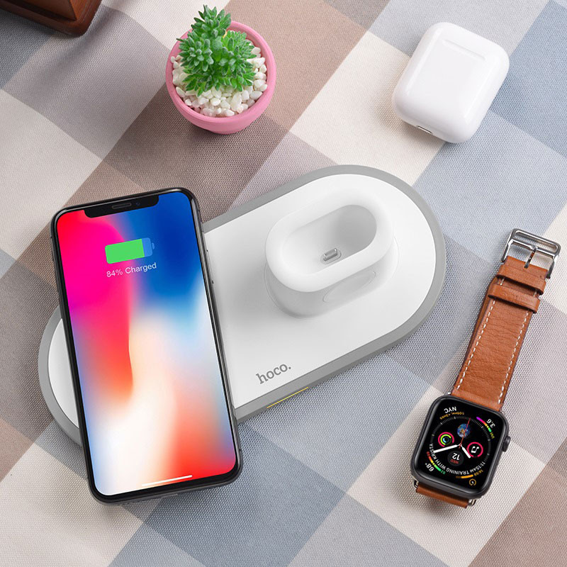 hoco. CW21 3in1 wireless charger