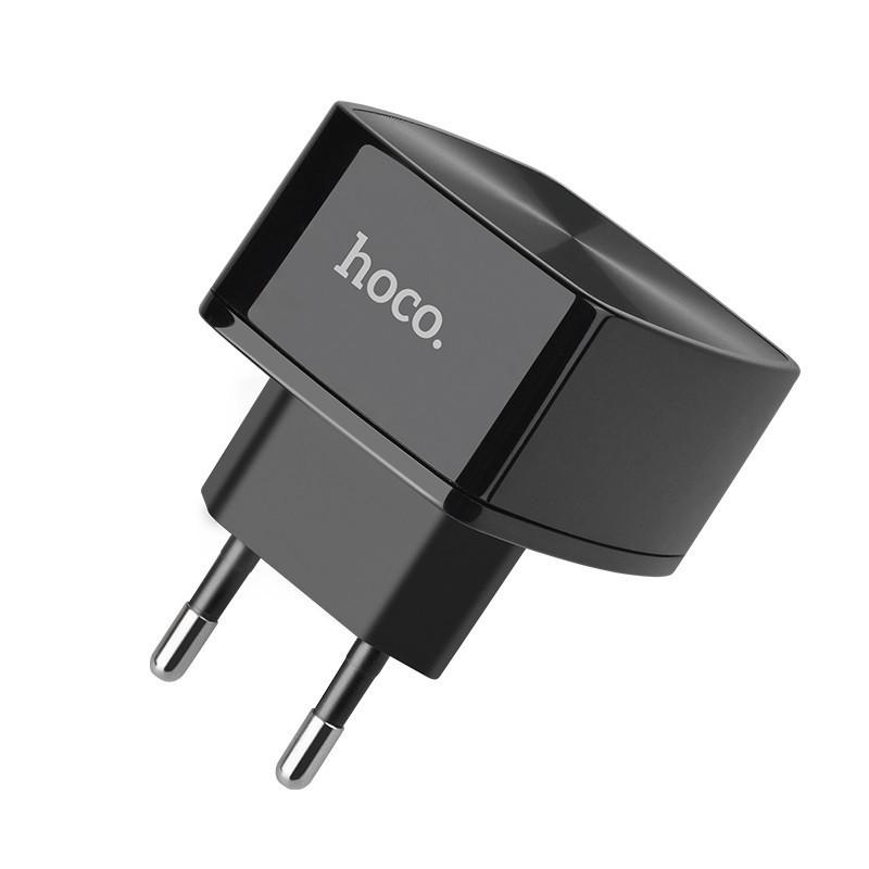 hoco. C70A 18W rapid charger QC3.0, QC2.0, FCP, AFC with type-c