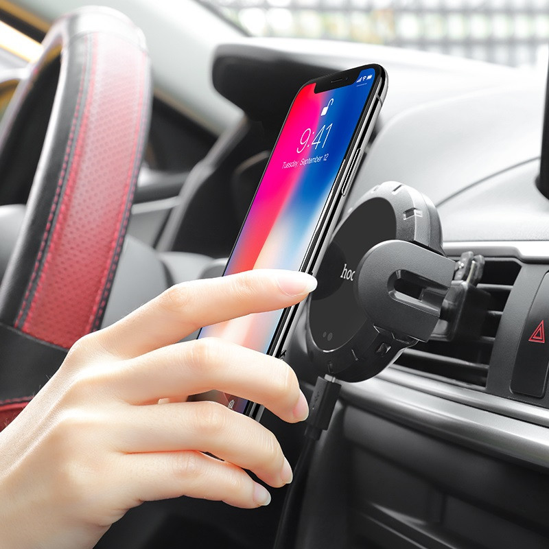 hoco. CA35 lite 2in1 car holder and wireless charger