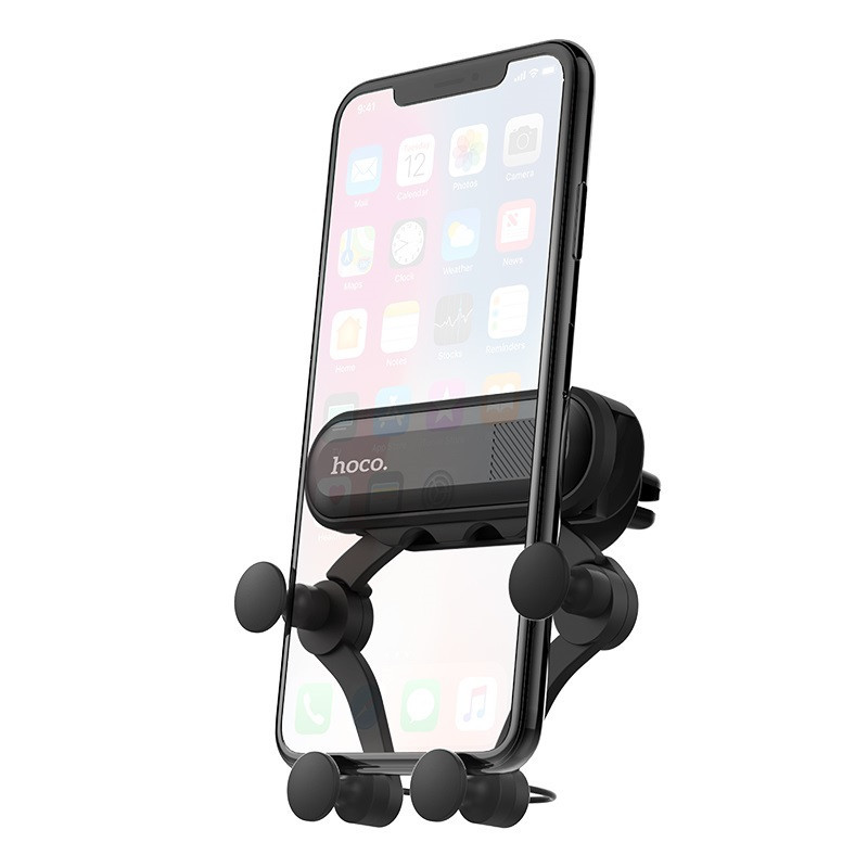 Original hoco. CA51 smartphone holder for car air outlet black