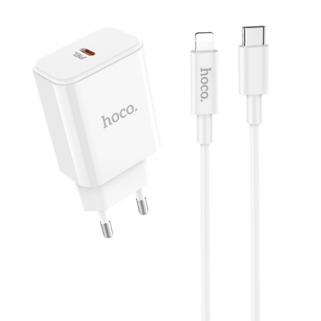 hoco. C71A 18W fast charging set with lightning cable