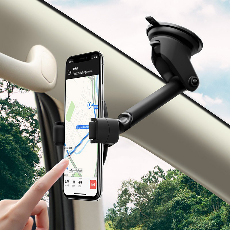 hoco. S12 2in1 car holder and wireless fast charger
