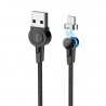 hoco. S8 magnetic microUSB charging cable