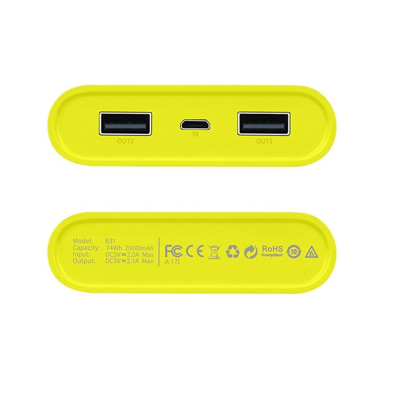 hoco. B31 dual USB powerbank