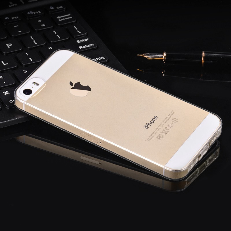 hoco. smartphone cover crystal clear series for iPhone 5, 5S, SE