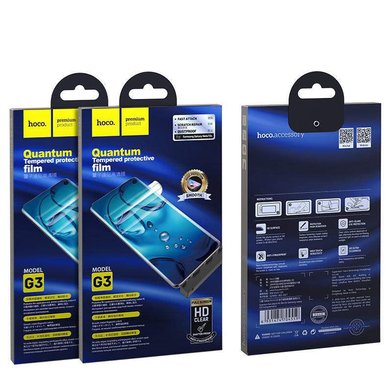 hoco. ochranná fólia G3 pre Samsung Galaxy Note 10 Plus