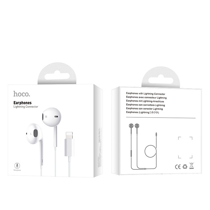 hoco. L9 earphones with lightning connector
