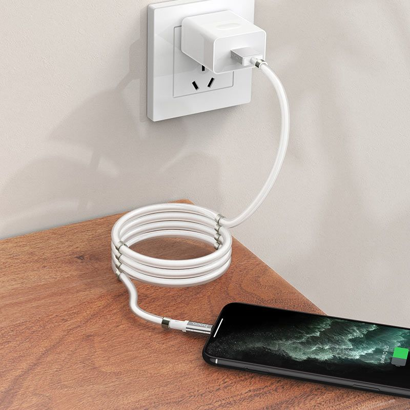hoco. U91 winding lightning charging cable for Apple
