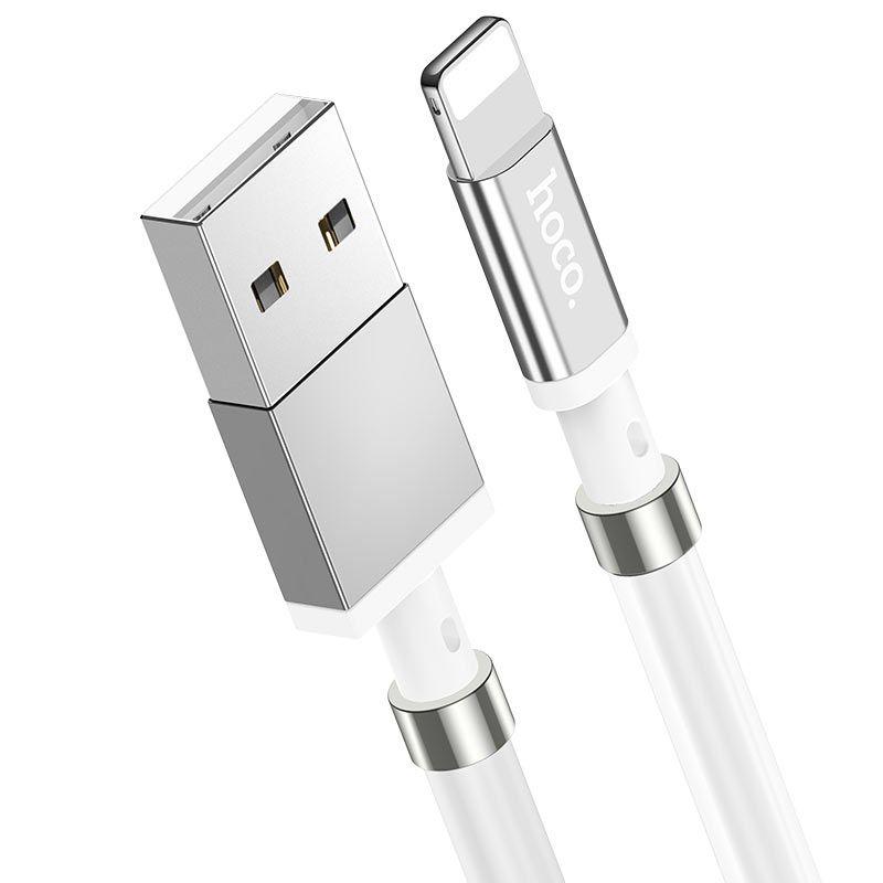 Originál zvinuteľný lightning nabíjací kábel pre Apple hoco.